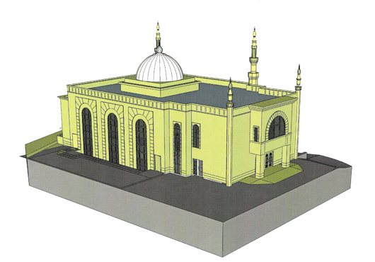 structural engineer Rees Way Mosque